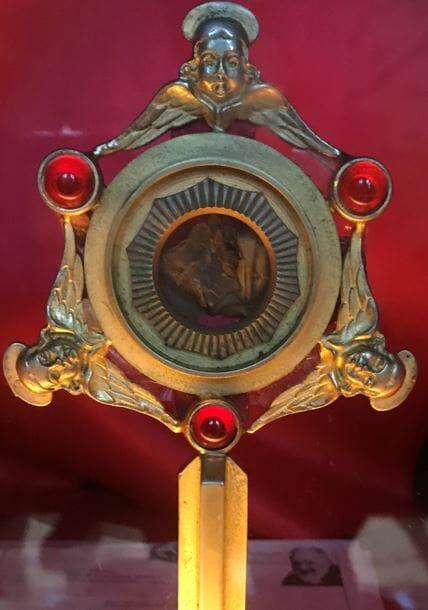 St Pio Relics